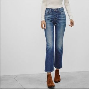 Aritzia The Castings High Rise Cropped Jeans 102